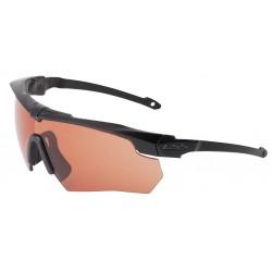 ESS - 740-0472 - Crossbow Suppressor Anti-Fog, Scratch-Resistant Ballistic Safety Glasses, Copper Lens Color