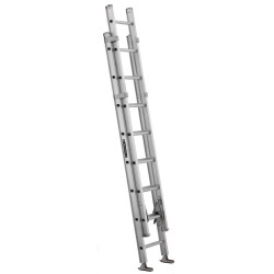 Louisville Ladder - AE1216HD - Extension Ladder, Aluminum, IAA ANSI Type, 16 ft.