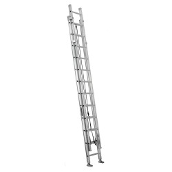 Louisville Ladder - AE1224HD - Extension Ladder, Aluminum, IAA ANSI Type, 24 ft.