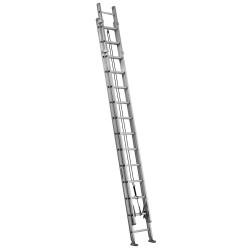 Louisville Ladder - AE1228HD - Extension Ladder, Aluminum, IAA ANSI Type, 28 ft.