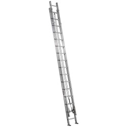 Louisville Ladder - AE1232HD - Extension Ladder, Aluminum, IAA ANSI Type, 32 ft.