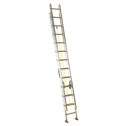 Louisville Ladder - AE3224 - Extension Ladder, Aluminum, I ANSI Type, 24 ft.