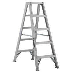 Louisville Ladder - AM1005 - 5 ft. 300 lb. Load Capacity Aluminum Twin Stepladder