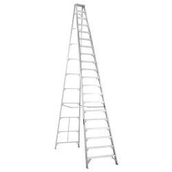 Louisville Ladder - AS1020 - 20 ft. 300 lb. Load Capacity Aluminum Stepladder