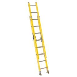 Louisville Ladder - FE1716 - Extension Ladder, Fiberglass, I ANSI Type, 8 ft. Ladder Height