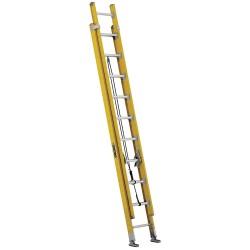 Louisville Ladder - FE4620HD - Extension Ladder, Fiberglass, IAA ANSI Type, 10 ft. Ladder Height