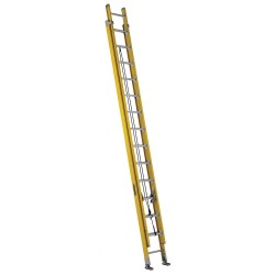 Louisville Ladder - FE4628HD - Extension Ladder, Fiberglass, IAA ANSI Type, 14 ft. Ladder Height