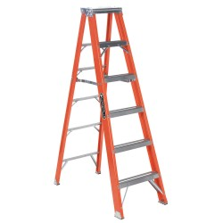 Louisville Ladder - FS1306HD - 6 ft. 375 lb. Load Capacity Fiberglass Stepladder