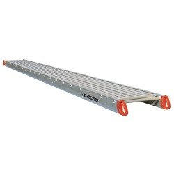"""Louisville Ladder - P21424 - Two-Person Scaffolding Stage, 24 ft. Overall Length, 14"""" Overall Width, 500 lb. Load Capacity"""