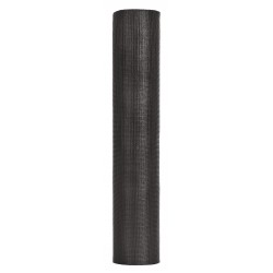 New York Wire - FCS8461-M - 100 ft. x 24 Fiberglass Invisible Door and Window Screen, Charcoal