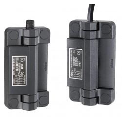 Elesa - CFSW.110-6-2NO+2NC-F-C-5 - Hinged Safety Interlock Switch, 2NO/2NC Contact Form, Bottom Output Port Location