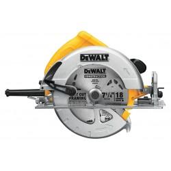 Dewalt - DWE575 - DeWALT DWE575 Heavy-Duty 15 Amp 7-1/4'' Lightweight Circular Saw Kit w/ Blade & Wrench