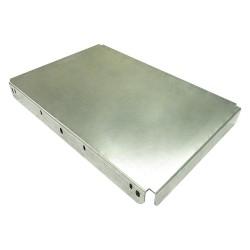Ashland Conveyor - DP22BFX24 - Dead Plate, 400 lb., Galvanized Steel