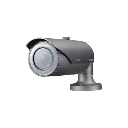 Samsung - SNO-5084R - WiseNet III Network IR Bullet Camera, 1.3MP, 720p, Motorized Lens 2.8x (3-8.5mm), 130dB WDR, True D/N, SD/SDHC/SDXC, 12VDC/24VAC/PoE, IP66, IK10, Built-in Heater