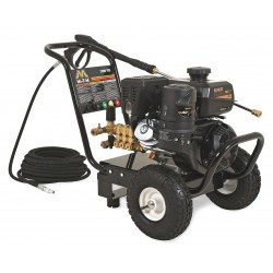 MI-T-M - GC-3000-0MKB - Heavy Duty (2800 to 3299 psi) Gas Cart Pressure Washer, Cold Water Type, 2.4 gpm, 3000 psi