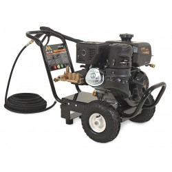 MI-T-M - GC-3500-0MKB - Industrial Duty (3300 psi and Greater) Gas Cart Pressure Washer, Cold Water Type, 2.8 gpm, 3500 psi