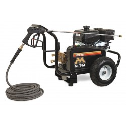 MI-T-M - GBJ-3003-0MKB - Heavy Duty (2800 to 3299 psi) Gas Cart Pressure Washer, Cold Water Type, 3.5 gpm, 3000 psi