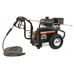 MI-T-M - GBJ-3504-0MKB - Industrial Duty (3300 psi and Greater) Gas Cart Pressure Washer, Cold Water Type, 3.7 gpm, 3500 psi