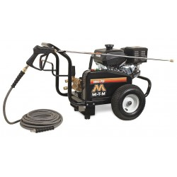 MI-T-M - GBJ-4004-0MKB - Industrial Duty (3300 psi and Greater) Gas Cart Pressure Washer, Cold Water Type, 3.0 gpm, 4000 psi