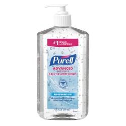Purell - 3023-12 - 20 oz. Hand Sanitizer Pump Bottle, 1 EA