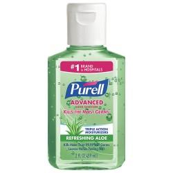 Purell - 9682-24 - 2 oz. Hand Sanitizer Bottle, 1 EA