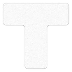 Incom / Top Tape & Label - LM130W - Floor Marking Tape, Solid, T, 6 Width, 25 PK
