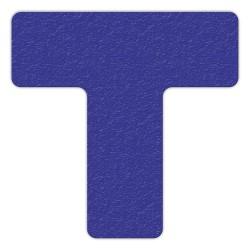 Incom / Top Tape & Label - LM130B - Floor Marking Tape, Solid, T, 6 Width, 25 PK