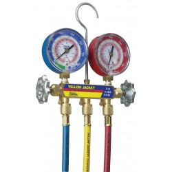 Yellow Jacket / Ritchie Engineering - 42004 - Mechanical Manifold Gauge Set, 2-Valve