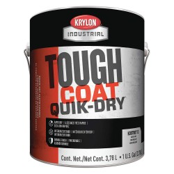 Krylon - K00780464-20 - Krylon Products Group 5 Gallon Can Black Industrial Coatings Series 78 Quick Dry Alkyd Enamel Paint, ( Pail )