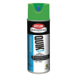 Krylon - A03407004 - Brilliant Green Marking Paint, Water Base Type, 16 oz.