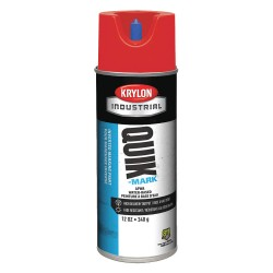 Krylon - A03404004 - Water-Base Marking Paint, Brilliant Red, 16 oz.