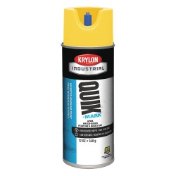 Krylon - A03402004 - Brilliant Yellow Marking Paint, Water Base Type, 16 oz.