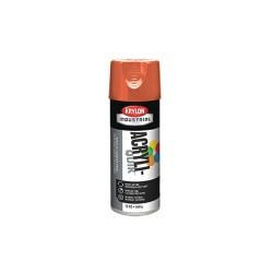 Krylon - K02411A00 - Acryli-Quik Spray Paint in High Gloss Pumpkin Orange for Metal, Steel, Wood, 12 oz.