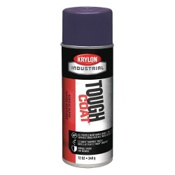 Krylon - A01625 - 16-oz. Tough Coat Blue-gray Acrylic Ena