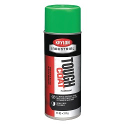 Krylon - A01815 - 16-oz Fluorescent Electric Green Tough-coat