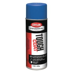 Krylon - A01008 - Tough Coat Rust Preventative Spray Paint in Gloss Ford Blue for Metal, Steel, 12 oz.