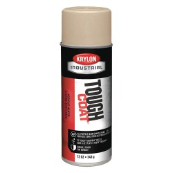 Krylon - A01305 - Tough Coat Rust Preventative Spray Paint in Gloss Light Beige for Metal, Steel, 12 oz.