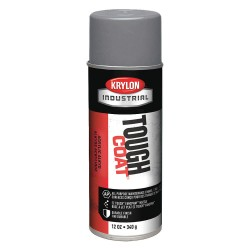Krylon - A01620 - Tough Coat Rust Preventative Spray Paint in Gloss Machinery Gray for Metal, Steel, 12 oz.