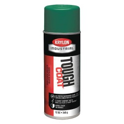 Krylon - A01319000 - Krylon Products Group 12 Ounce Aerosol Can New Cat Yellow Krylon Tough Coat Acrylic Alkyd Enamel Paint