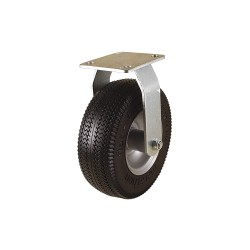 Other - #00315 - 8-1/2 Light-Duty Sawtooth Tread Rigid Solid Rubber Caster, 275 lb. Load Rating