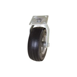 Other - #00316 - 8-1/2 Light-Duty Sawtooth Tread Swivel Solid Rubber Caster, 275 lb. Load Rating