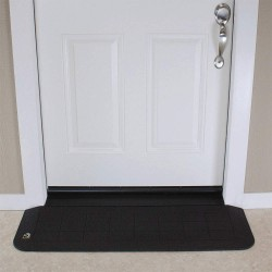 Safepath - RAEZ0010 - ADA Ramp, 1/2In.H, 3-1/2In.L, 42In.W, Black