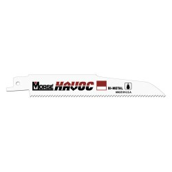 M.K. Morse - RB96206T03 - Reciprocating Saw Blade, 7/8in.W, 9inL, PK3