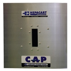 Hepacart - HC-CAP - Wire-Pulling Device, 24W x 24L x 3-1/2H, 1 EA