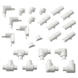 D-Line - US/1608SAP24/GR - ABS Accessory Pack For Use With 3000 Raceway, White