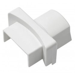 D-Line - US/PA3015W/5/GR - ABS Round Base Adapter For Use With 500 and 4000 Raceways, White