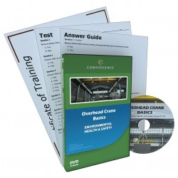 Convergence Training - 432 - DVD, Overhead Crane Basics, English