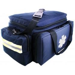 MedSource - MS-B3331 - Trauma Bag, 7-1/2x10x17-1/2 in., Navy