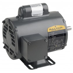 Baldor Electric - CL3504 - 1/2 HP General Purpose Motor, Capacitor-Start, 1725 Nameplate RPM, Voltage 115/230, Frame 56C
