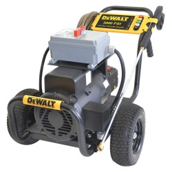 Dewalt - DXPW3000E - Heavy Duty (2800 to 3299 psi) Electric Cart Pressure Washer, Cold Water Type, 4.0 gpm, 3000 psi